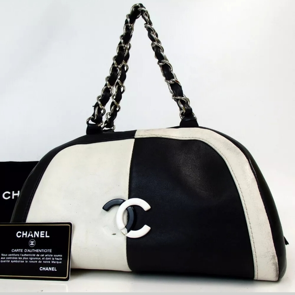 CHANEL Handbags - AUTH  CHANEL 10662309 BICOLOR CC MARK  HANDBAG